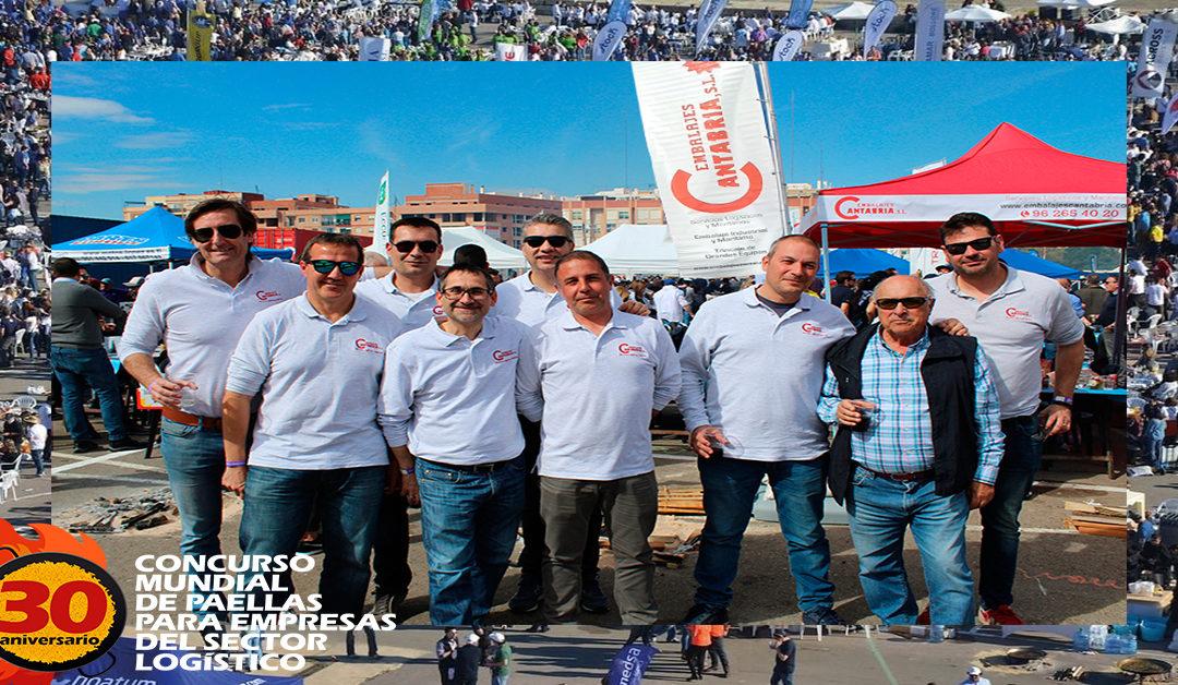 30 Concurso Mundial de Paellas sector Logístico